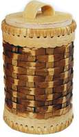 Wicker kitchen jar